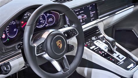 2017 porsche panamera interior youtube