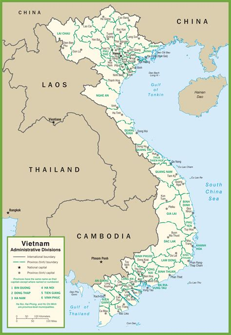 printable maps vietnam vietnam political map