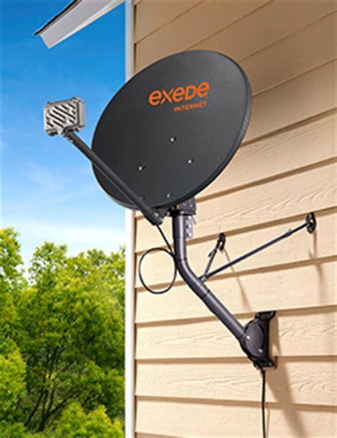 satellite dish installation process exede