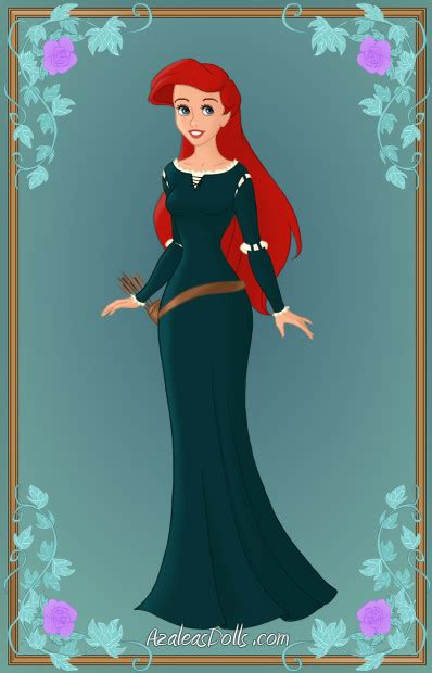 Ariel as Merida by Heroine FA C n Xover on DeviantArt