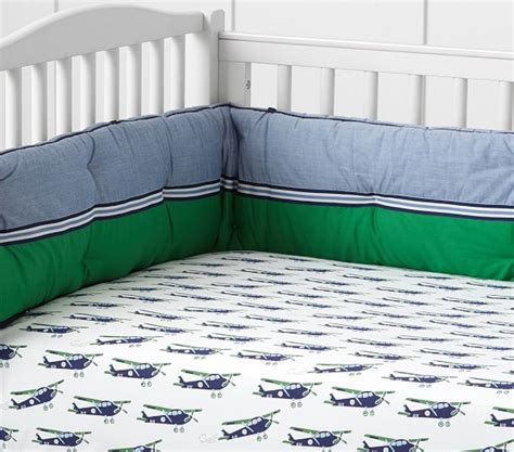 Airplane Baby Bedding Pottery Barn Kids Pottery Barn Airplane Crib Bedding