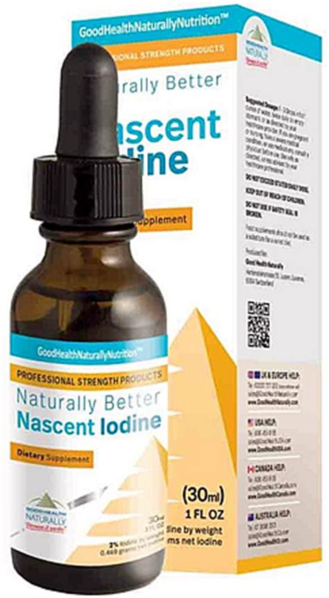 Detox Iodine Machine nascent iodine 30ml 2 strength detox trading