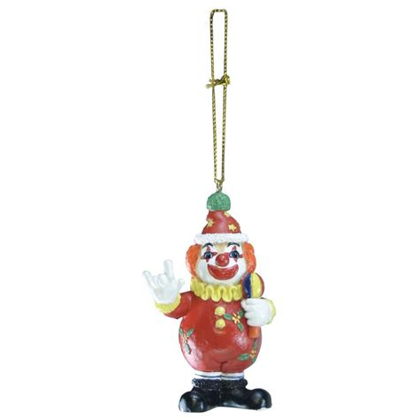 ily holiday clown ornament harris communications