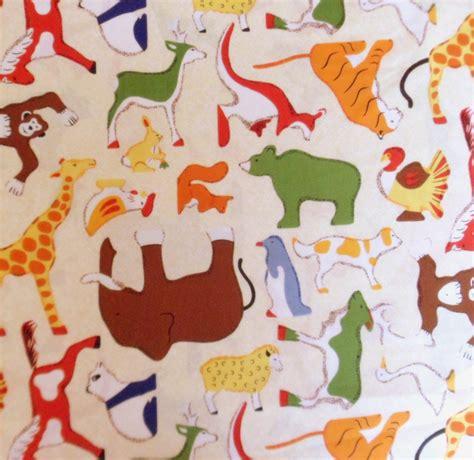 doodle zoo animal fabric zoo animal fabric cotton fabric doodle zoo rjr