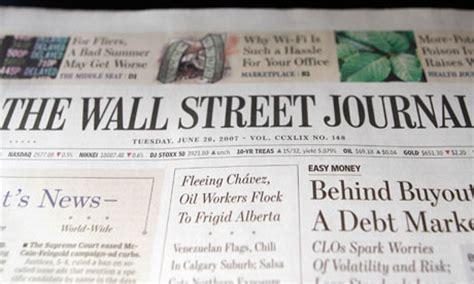 wsj grew circulation revenue 7 percent in fourth quarter