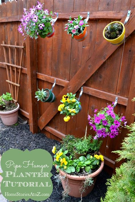 Fence Hangers For Planters by 1000 Ideas About Fence Planters On Small Backyards Fence Decorations And Yard