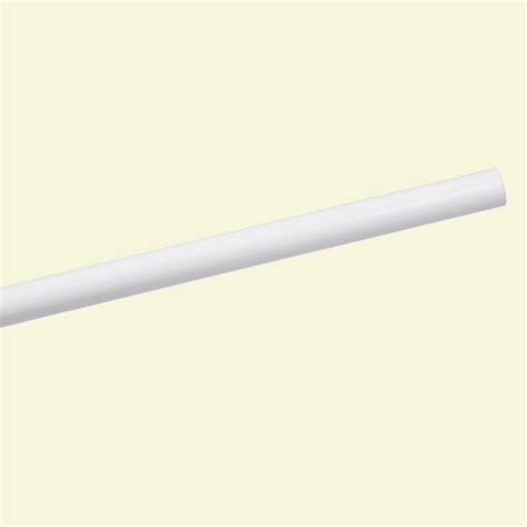 closet rod closetmaid impressions 23 in nickel corner rounder closet rod 30710 the home depot