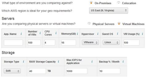 total cost of ownership calculator aws total cost of ownership calculator