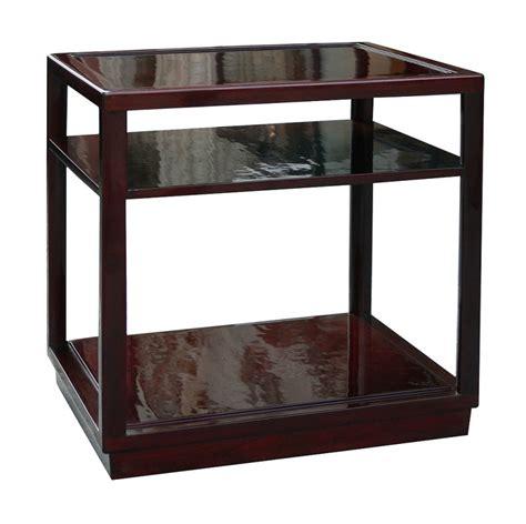 side table with shelves edward wormley dunbar janus side tables with shelves