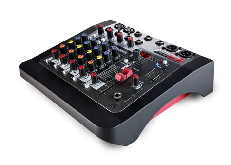 Mixer Audio Allen Heath allen heath zed 6fx compact 6 input audio mixer with effects