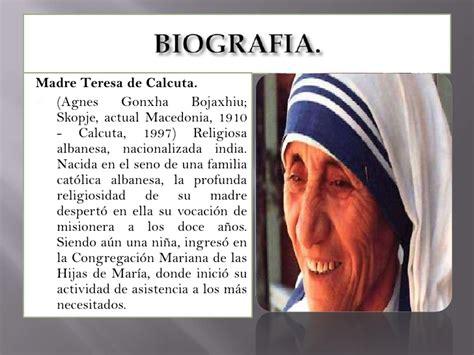 madre teresa aliento de vida madre teresa de calcuta biografia madre teresa