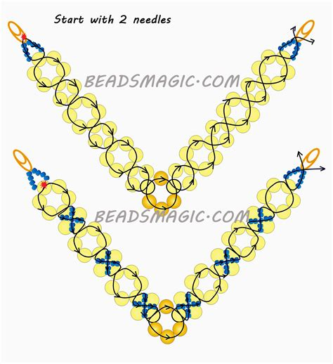 bead magic free pattern for necklace classic magic bloglovin