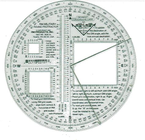 printable map protractor image gallery military protractor