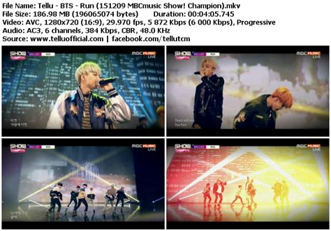 download mp3 bts run ballad ver download perf bts run mbcmusic show chion 151209