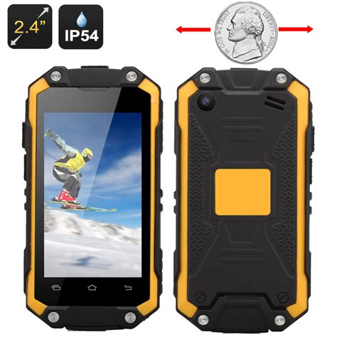 small rugged phone smallest waterproof rugged smartphone 2 4 inch display