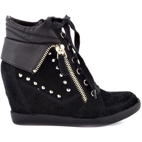 guess shoes hitzo black suede polyvore