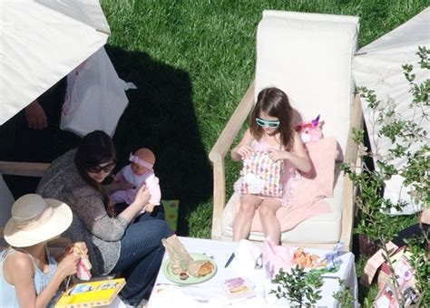 Tom And Throw A Tea For Suri by Suri Cruise Is For A Day At Birthday Tea