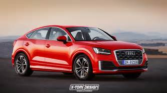 Q2 Audi Audi Q2 Gets Rendered As Coupe Like Sportback