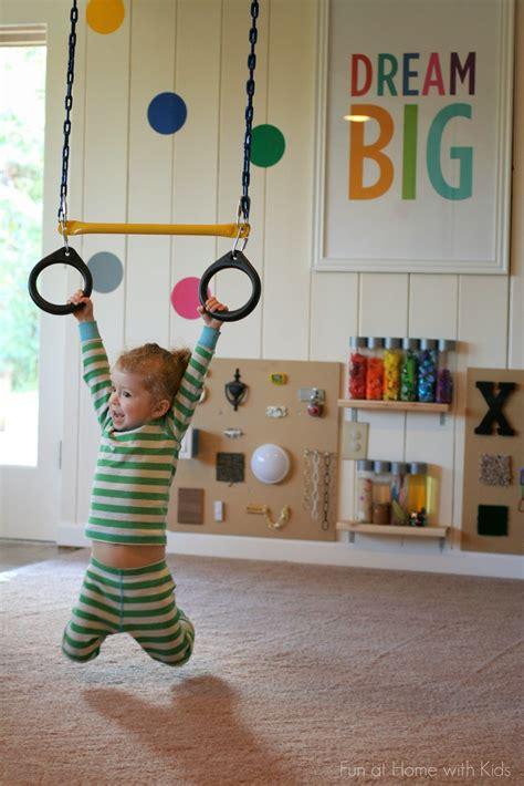 playroom swing playroom design diy playroom with rock wall