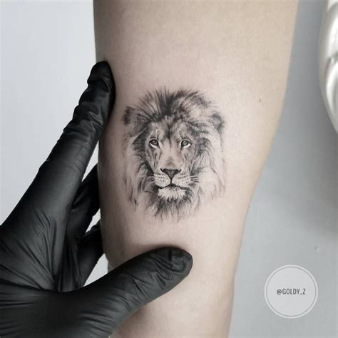 small lion head tattoo tattoos best design ideas 2018