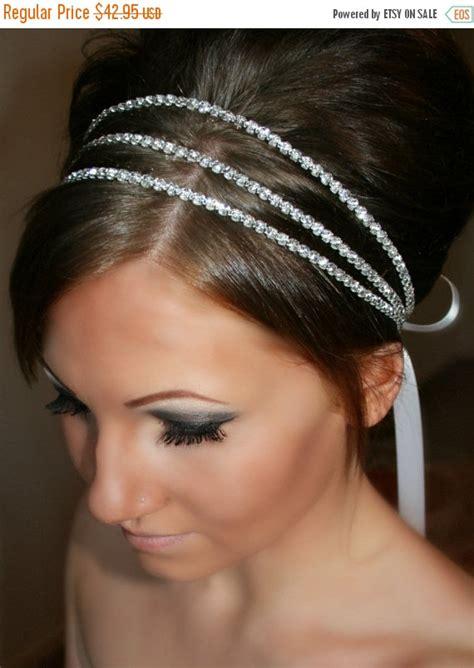 Wedding Hair Accessories On Sale by On Sale Bridal Headband Rhinestone Bridal Headband