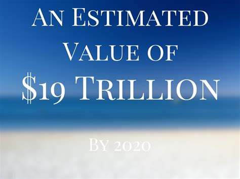 19 trillion an estimated value