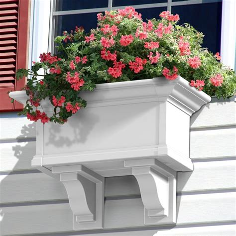 Decorative Planter Boxes by Mayne Decorative Window Box Brackets Set Of 2
