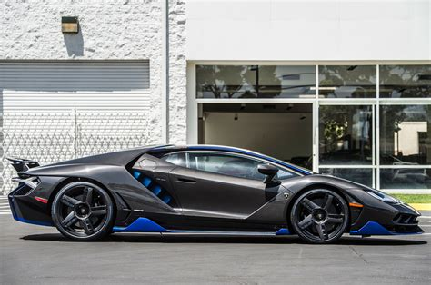 lamborghini the lamborghini centenario delivered to u s customer