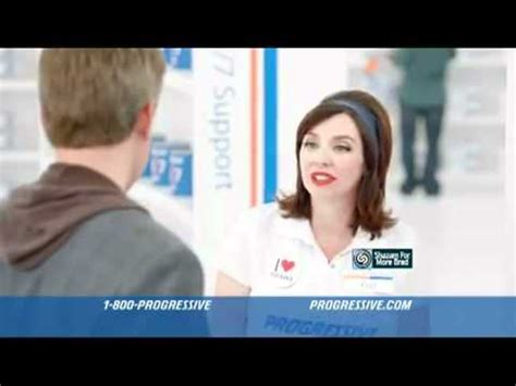 progressive commercial actress rachel flo and brad youtube