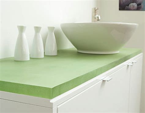 Chroma Countertops by Jetson Green 3form Chroma A Solid Surface Product