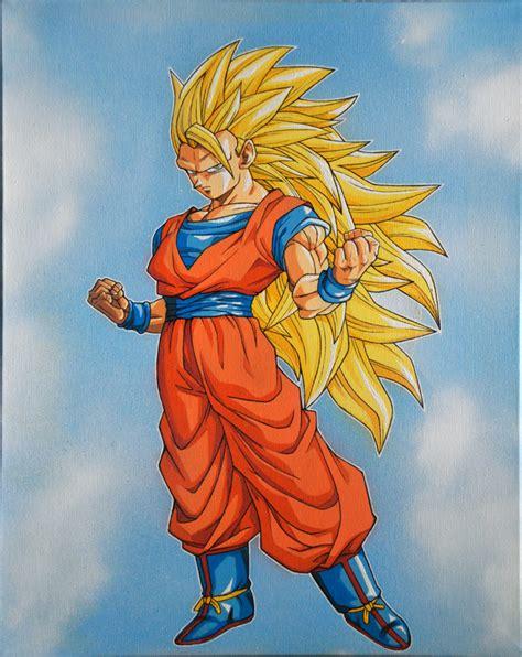 Goku Ss3 goku ss3 by dhemo on deviantart