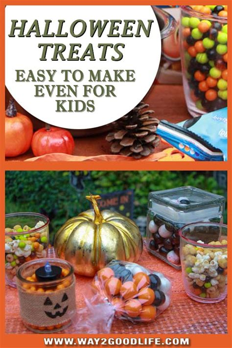 easy halloween treat ideas for busy moms and kids