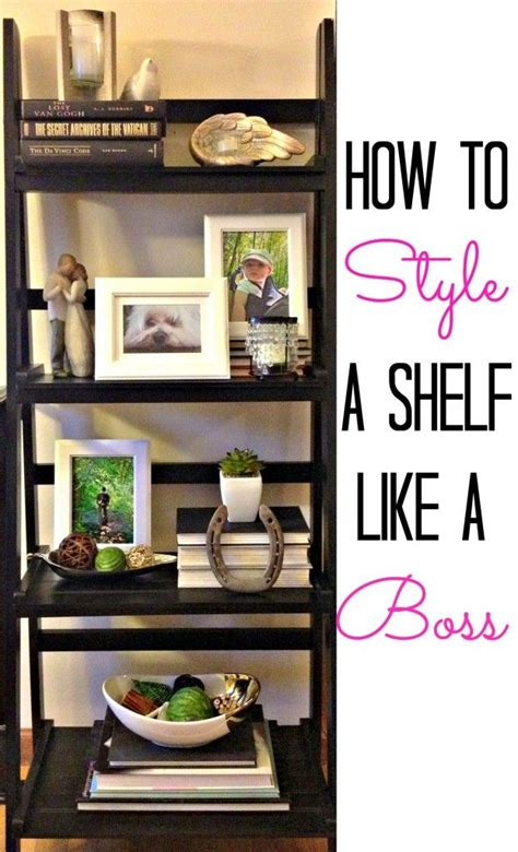 how to style a bookcase best 25 ladder shelf decor ideas on pinterest ladder