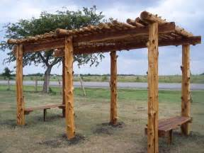 Rustic Pergolas by Rustic Cedar Arbor Woodworking Projects Amp Plans