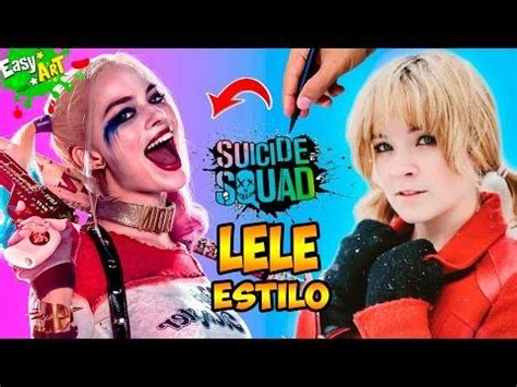 quin soy animales 8408126407 c 243 mo dibujar a lele estilo harley quinn how to draw soy