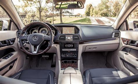 2014 Mercedes Benz E350 Interior بررسی مرسدس بنز E350 4matic کوپه مجله پدال