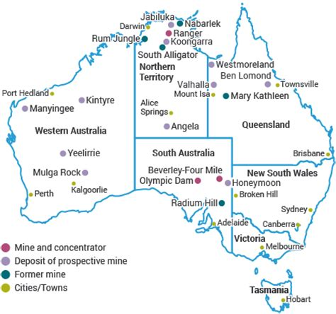 australia s uranium uranium mining in australia world