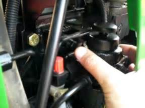 Bleeding Fuel System Kubota Diesel How To Bleed Kubota Fuel Injector Lines How To Make Do