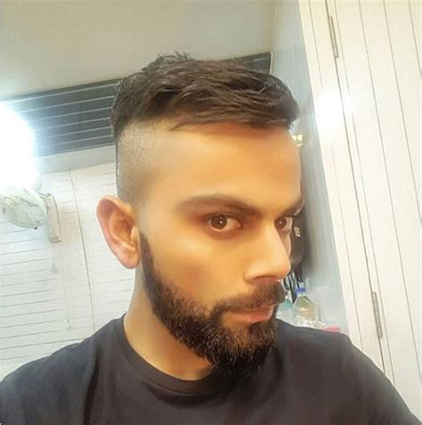 haircuts of virat virat kohli new hair style sep 2016