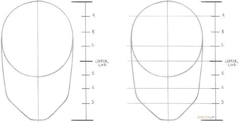 l shade shape guide l shade shape guide learn how to draw a face in 8 easy
