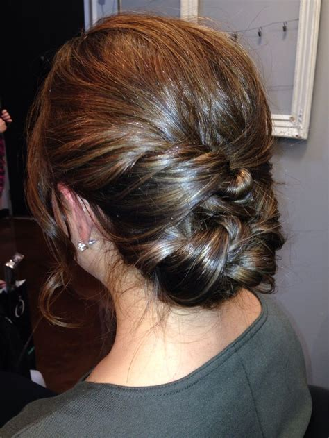 medium length updo with instructions medium length hair updo simple finger rake with twisted