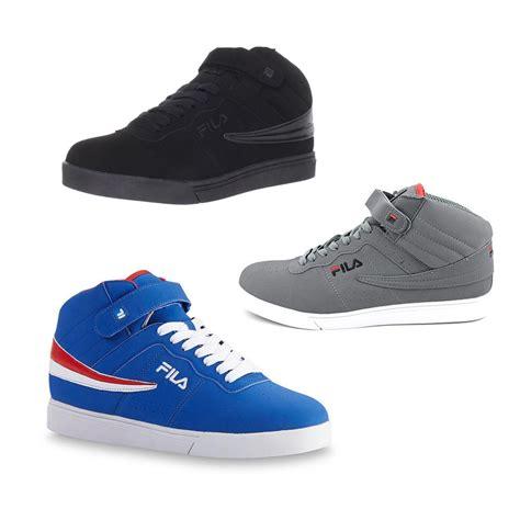 platform basketball shoes fila vulc 13 mens high top retro basketball sneakers shoes