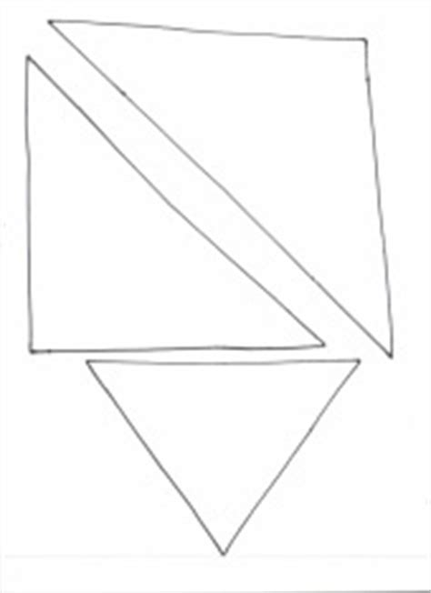 triangle template for christmas tree templates crafts for preschool