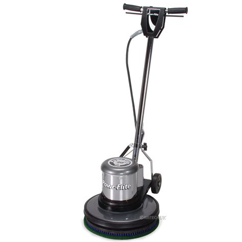 Floor Polishers by Powr Flite 17 Quot Floor Machine Buffer And Burnisher Free