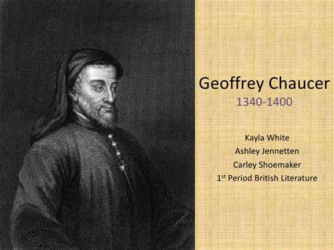 biography of geoffrey chaucer geoffrey chaucer