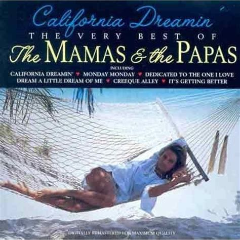 mamas and papas best of california dreamin the best of the mamas the