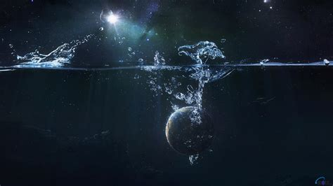 wallpaper abyss earth download wallpaper the fall of earth into the abyss 1366
