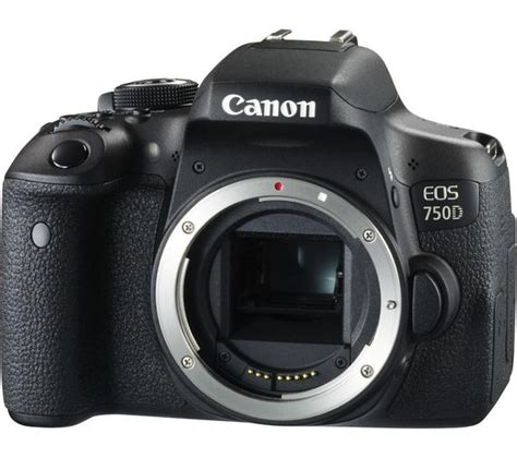 Canon Eos 750d Only Distributor buy canon eos 750d dslr only free delivery currys