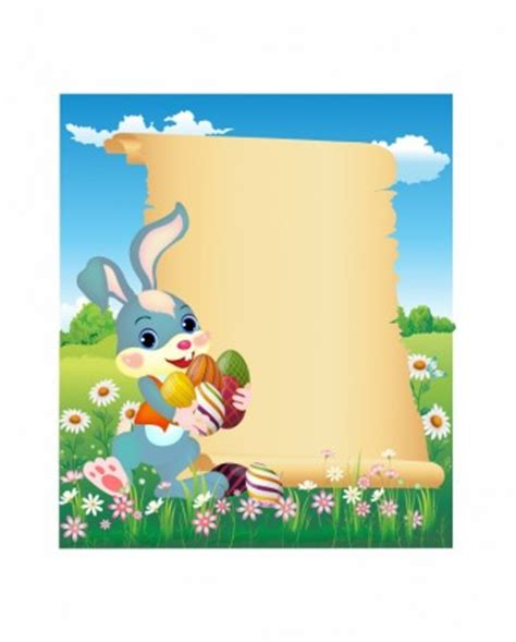 letter to easter bunny template easter bunny vector free free vector for free