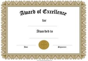 certificate awards template template award certificates word doc office